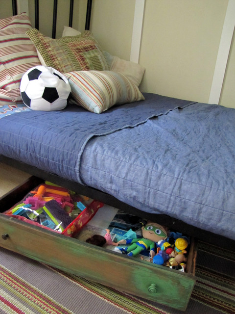 Underbed Storage Drawers Kids Traditional with Categorykidsstyletraditionallocationphiladelphia