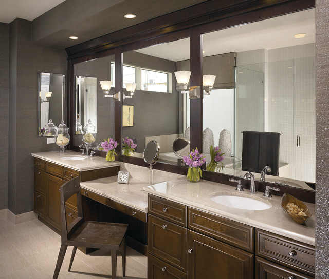 Undermount Bathroom Sinks Bathroom Contemporary with Bathroom Cabinet Bathroom Counter