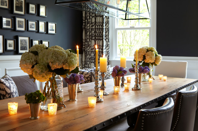 Unscented Candles Dining Room Transitional with Armchair Art Arranging Artwork
