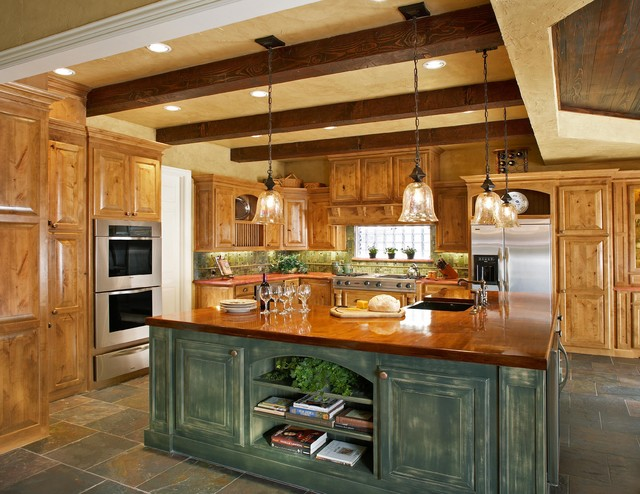 Uttermost Lighting Kitchen Rustic with Distressed Finish Exposed Beams