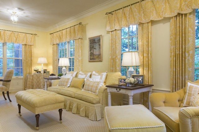 Valance Ideas Living Room Traditional with Ceiling Lighting Curtains Decorative1