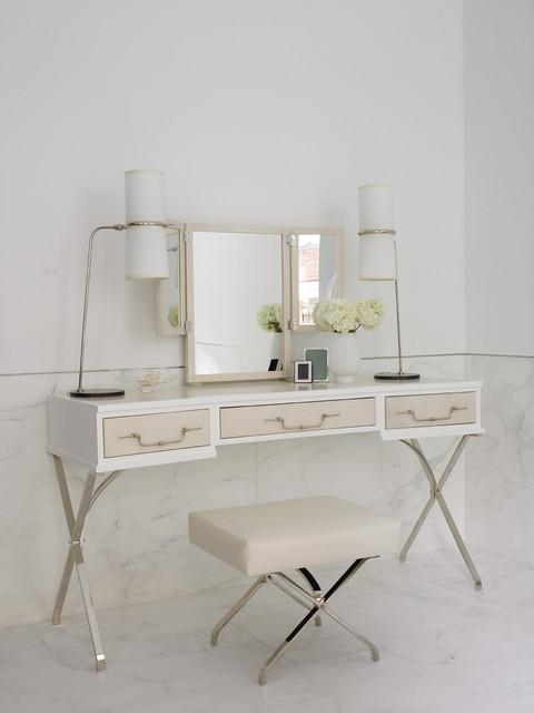 Vanity Dressing Table Home Office Contemporary with Categoryhome Officestylecontemporarylocationnew York