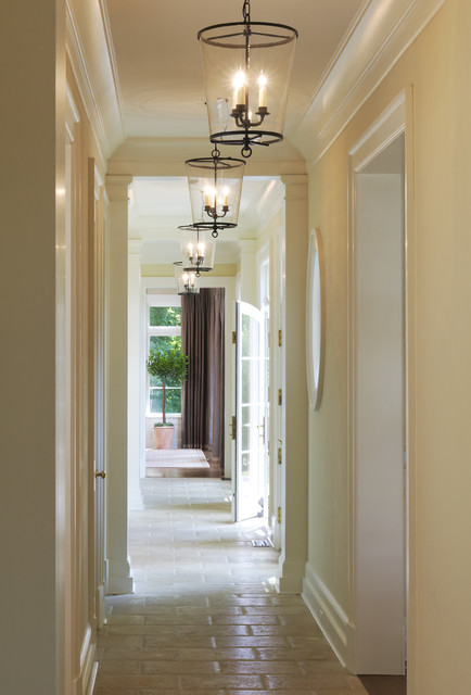 Vaughan Lighting Hall Mediterranean with Crown Mold Floor Gallery
