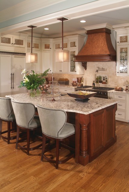 Ventahood Kitchen Traditional with Cabinets Counter Chairs Custom