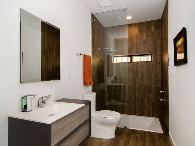 Vertical Bathtub Bathroom Contemporary with Bathroom Mirror Bathtub Narrow