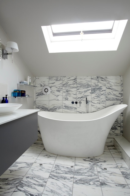 Victoria and Albert Tubs Bathroom Contemporary with Astro Lights Bathroom Window