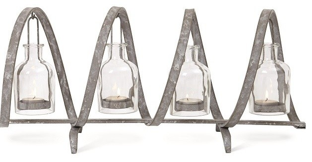 Votive Candle Holders Spaces with Candelabra Farmhouse Home Decor