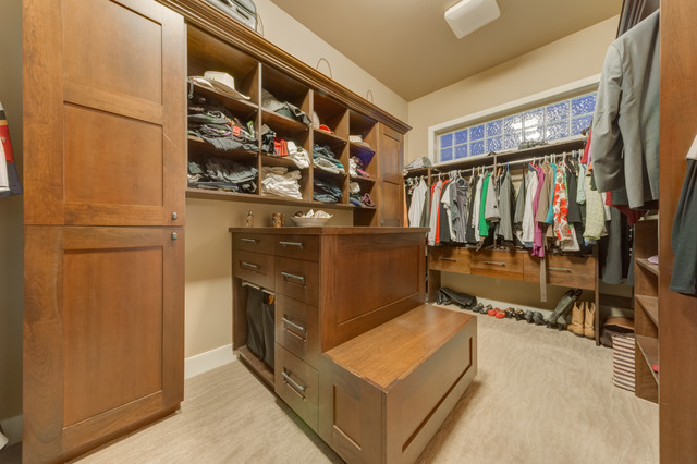 Walk in Closet Organizers Closet Traditional with Beige Carpet Beige Walls
