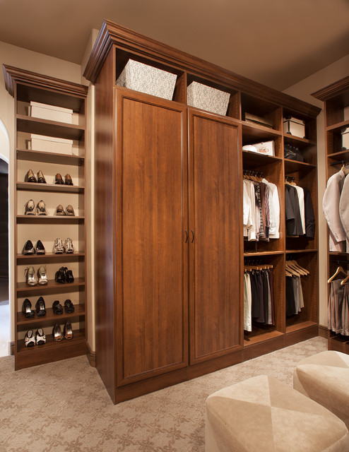 walk in closet organizers Closet Traditional with cabinet doors closet organizers