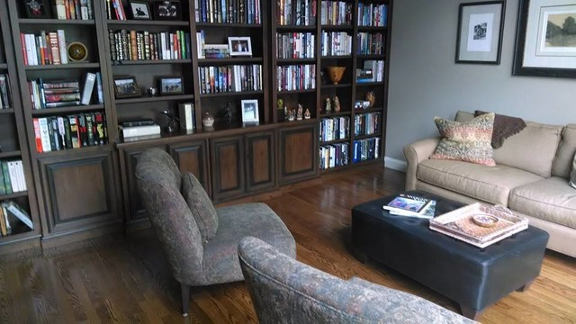 Wall Mount Bookshelf Living Room with Beige Couch Bookshelf Dark
