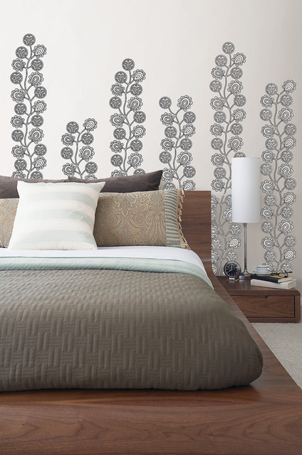 Wallpops Bedroom Contemporarywith Categorybedroomstylecontemporary 1