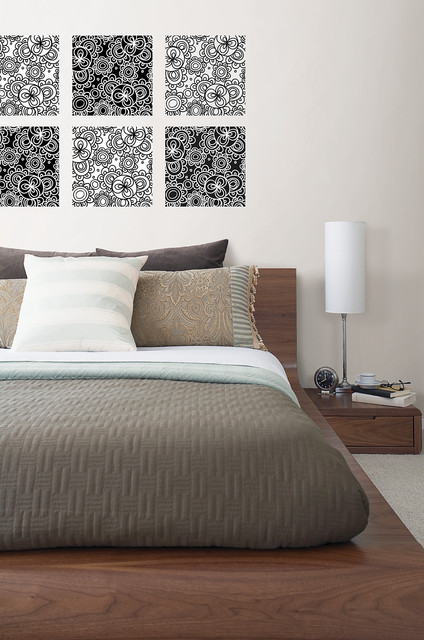 Wallpops Bedroom Contemporarywith Categorybedroomstylecontemporary 2