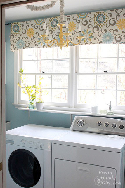 Waverly Valances Laundry Room Traditional with Categorylaundry Roomstyletraditionallocationraleigh