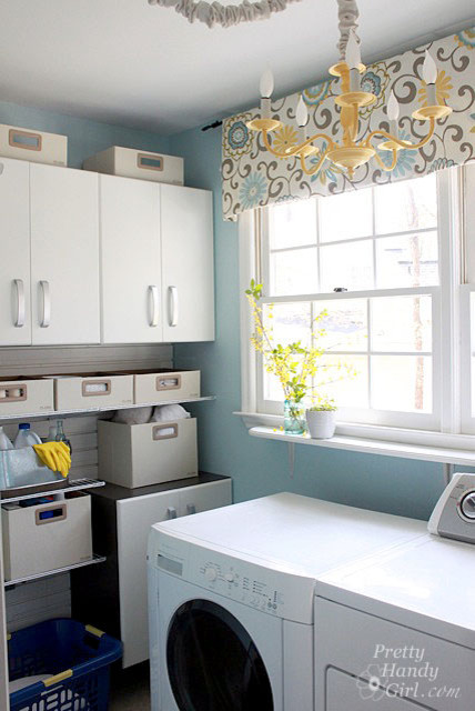 Waverly Valances Laundry Room Traditional with Categorylaundry Roomstyletraditionallocationraleigh 1