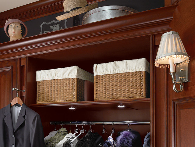 Wicker Storage Baskets Closet Traditional with Bedroom Closets Clothing Storage