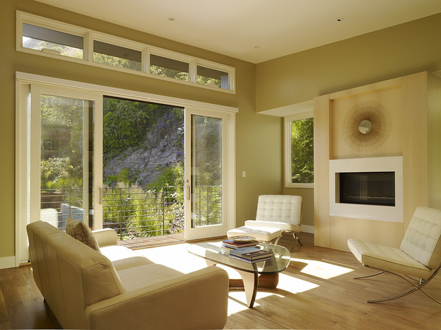Window Treatments for Sliding Glass Doors Living Room Modern with Balcony Glass Coffee Table