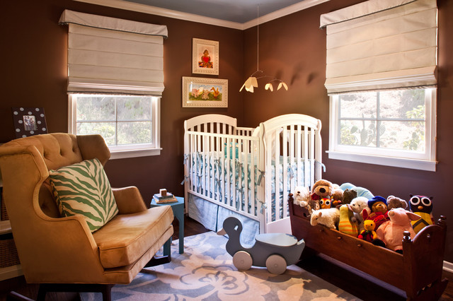 Window Valance Ideas Nursery Transitional with Area Rug Blue And