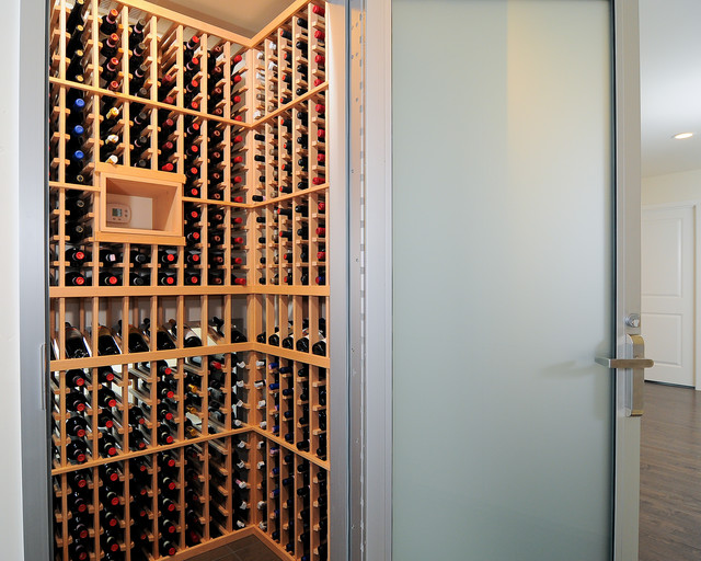 Wine Cellar Innovations Wine Cellar Modern with All American All American