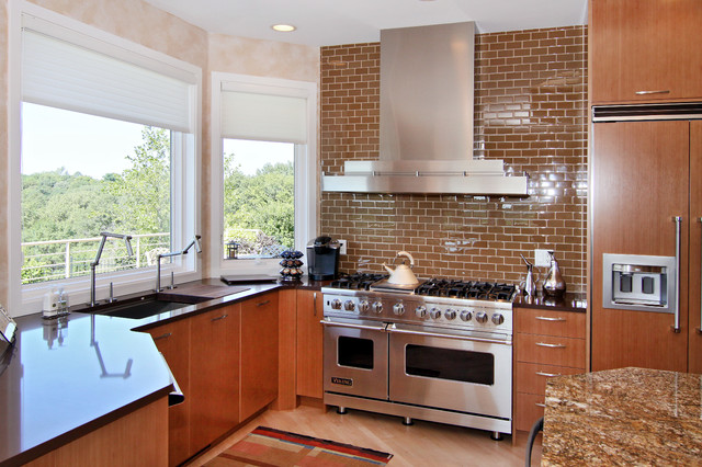 Wolf Stoves Kitchen Transitional with Black Counter Black Countertop1
