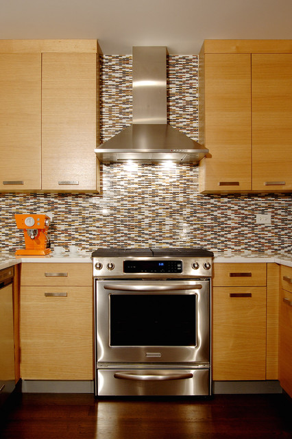 Zephyr Hoods Kitchen Contemporary with Ann Sacks Zenweave Calcutta