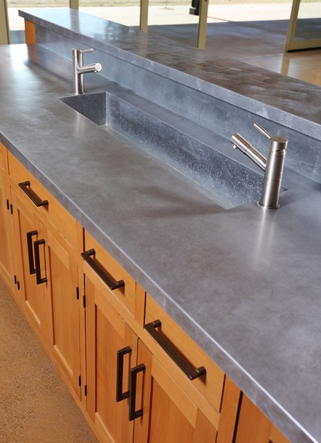 Zinc Countertops Kitchen Farmhouse with Categorykitchenstylefarmhouselocationportland 1