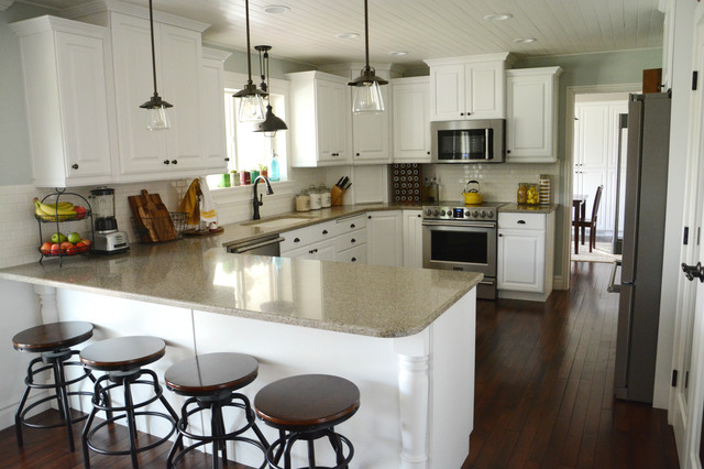 Zinc Countertops Kitchen Traditional with Categorykitchenstyletraditionallocationcharlotte