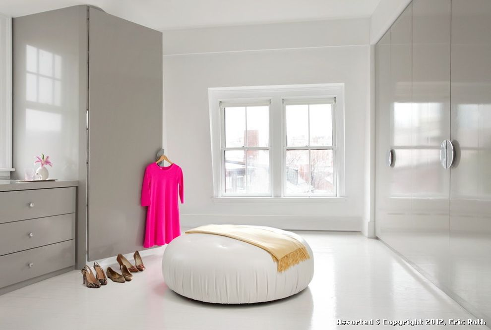 Allen Roth Closet  for Modern Closet and Modern Interior Design Photograph