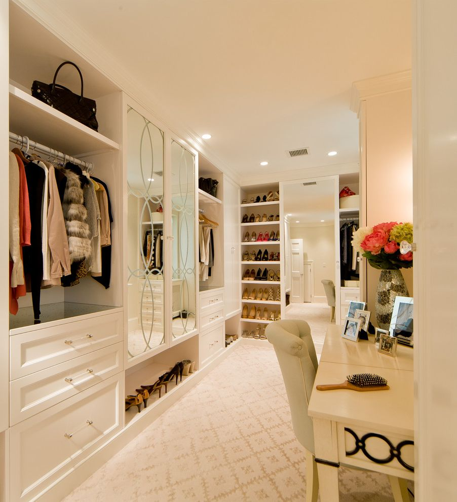 Allen Roth Closet  for Traditional Closet and Dressing Area
