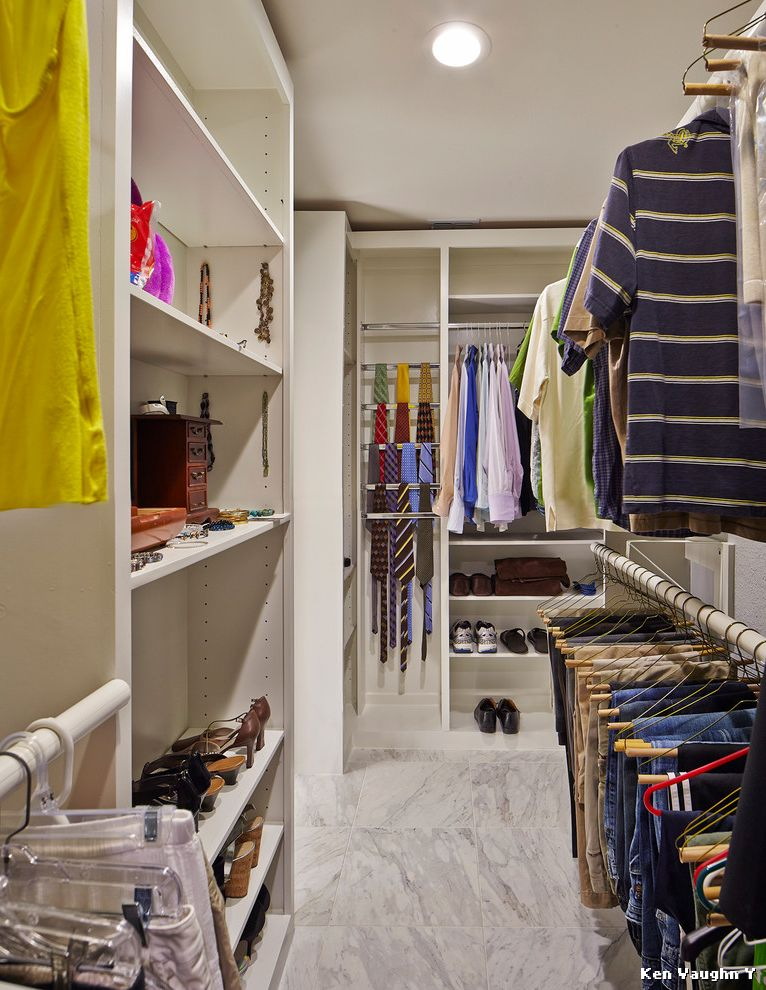 Allen Roth Closet  for Transitional Closet and Jewelry Organizer