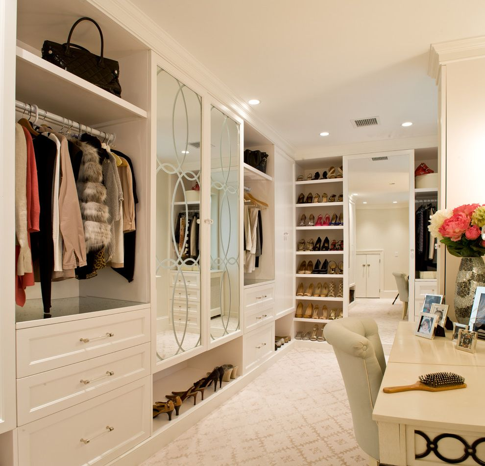 Allen Roth Closet  for Transitional Closet and Walk In