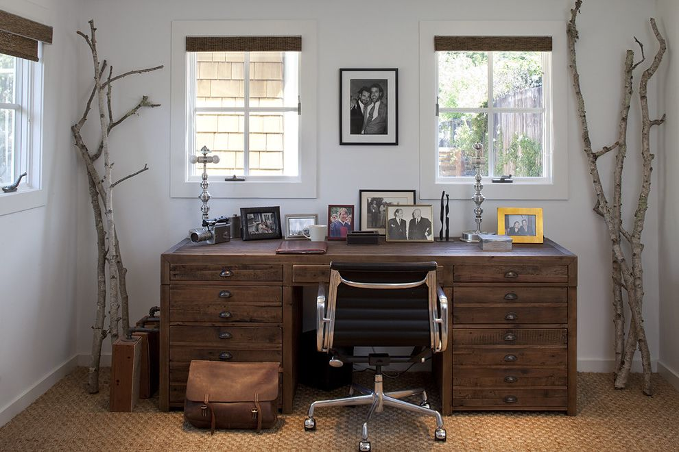 Antique Mederainan Desk  for Rustic Home Office and Wall Decor