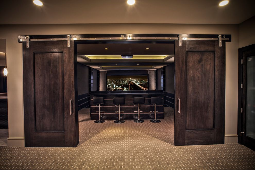 Ceiling Carpet  for Contemporary Home Theater and Media Center