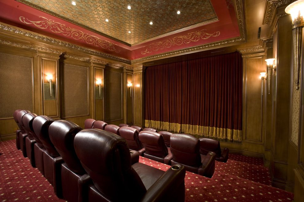 Ceiling Carpet  for Traditional Home Theater and Accent Ceiling