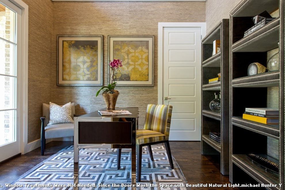 Ceiling Carpet  for Transitional Home Office and Geometric Rug