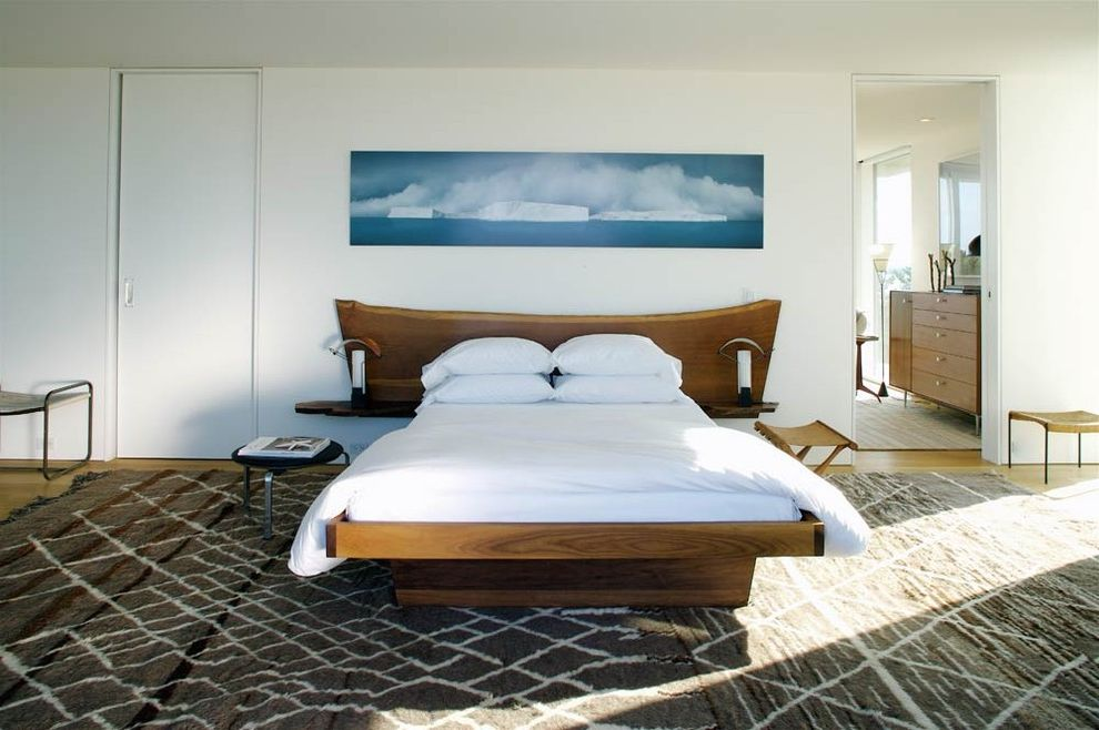 Coastal Chic Headboard  for Contemporary Bedroom and Minimal