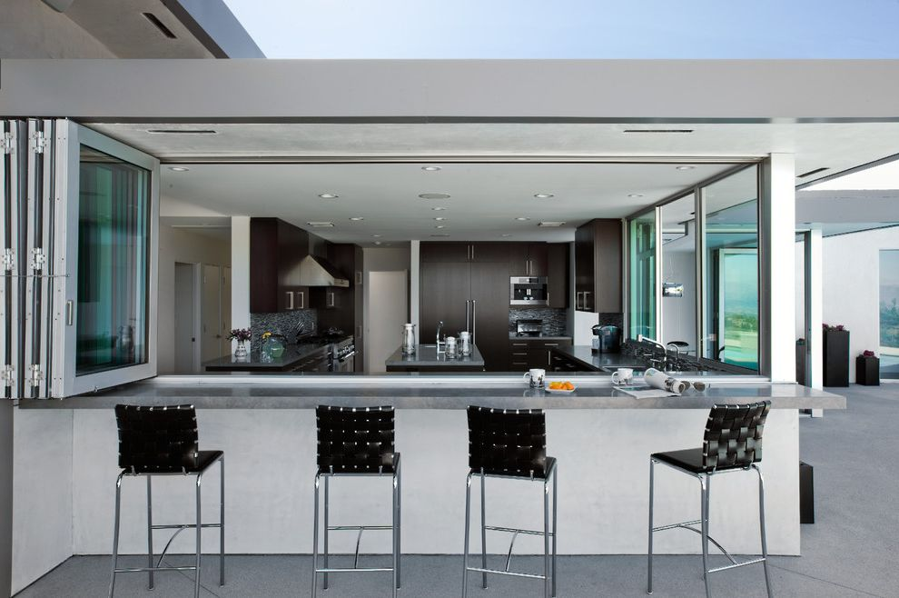 Cottage Style Kitchens with Banquetts  for Modern Kitchen and Dark Cabinets