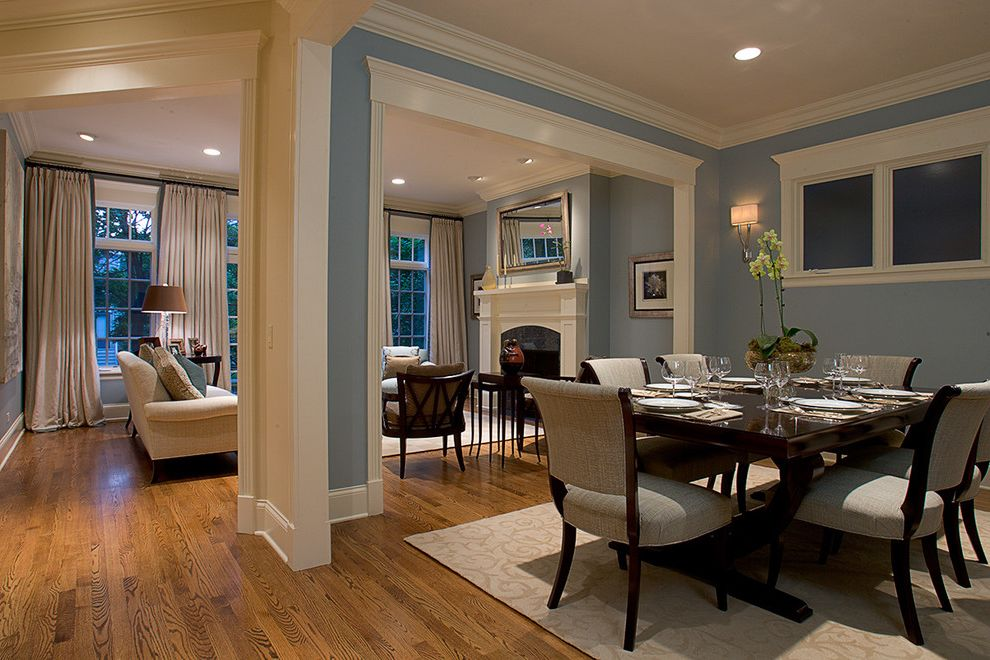 Dining Room Brick 2015 for Traditional Dining Room and Upholstered Dining Chairs