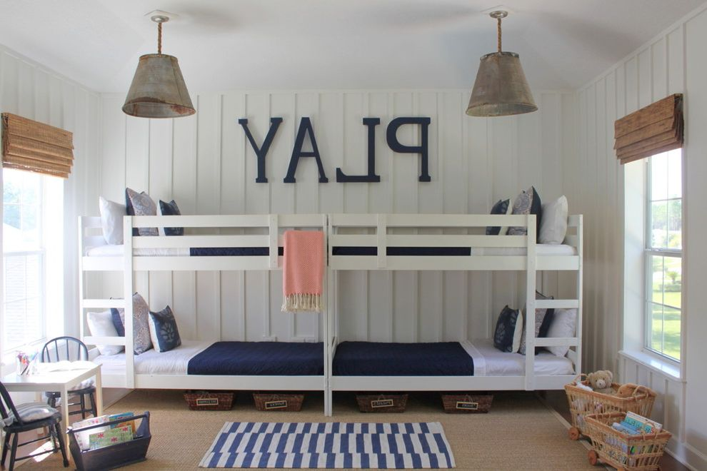 Domo Bunk Beds  for Beach Style Kids and Bunk Beds