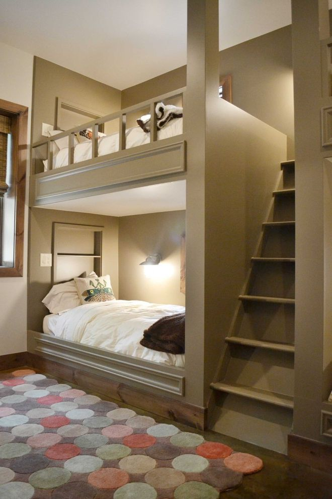 Domo Bunk Beds  for Contemporary Kids and Built in Bunk Beds