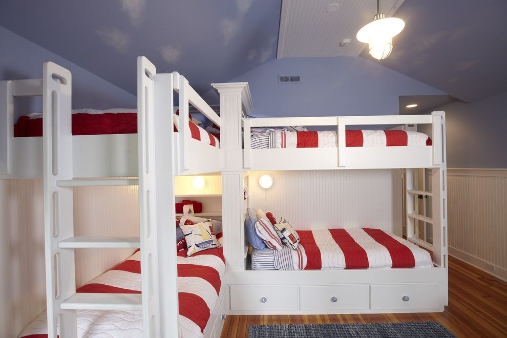 Domo Bunk Beds  for Traditional Kids and Nautical