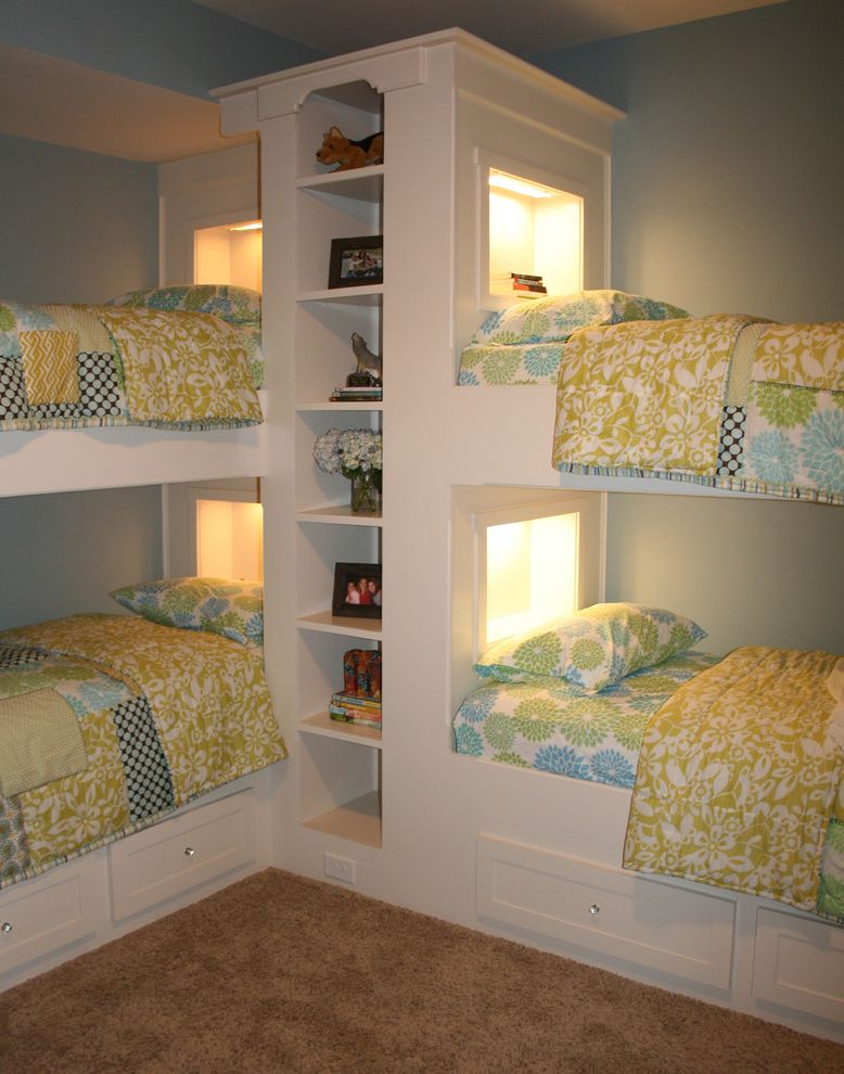 Domo Bunk Beds  for Traditional Kids and Shared Bedroom