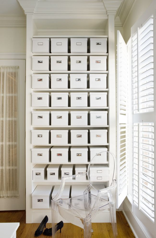 Ikea Decor Ideas for Shoes Organizer  for Contemporary Closet and Clear Armchair