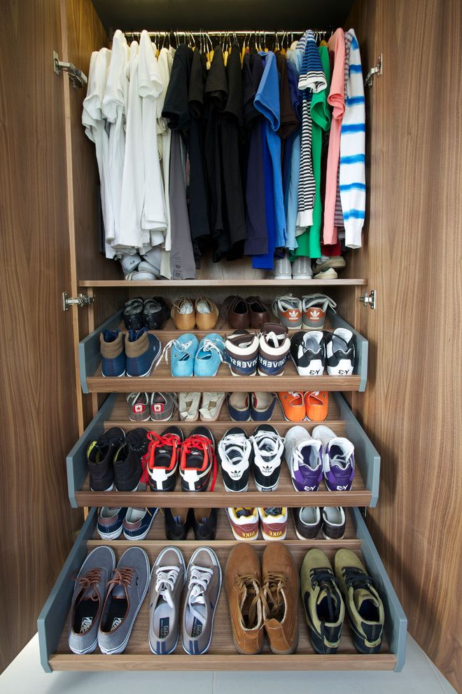 Ikea Decor Ideas for Shoes Organizer  for Contemporary Closet and Closet Organizers