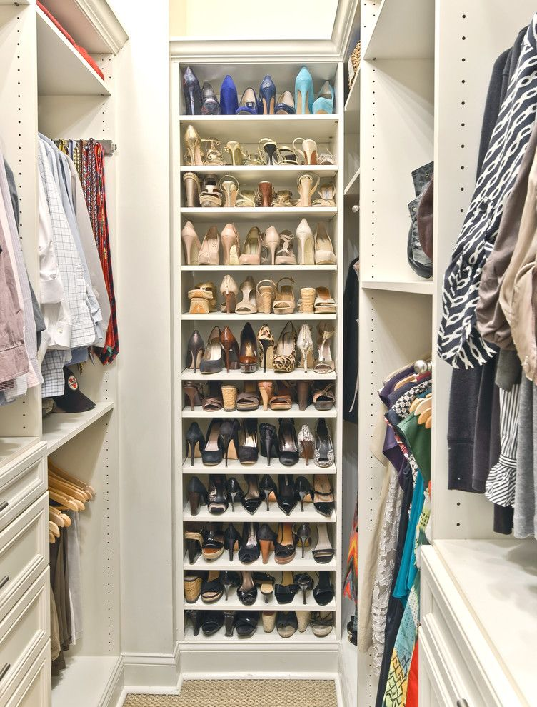 Ikea Decor Ideas for Shoes Organizer  for Traditional Closet and Adjustable Shelves