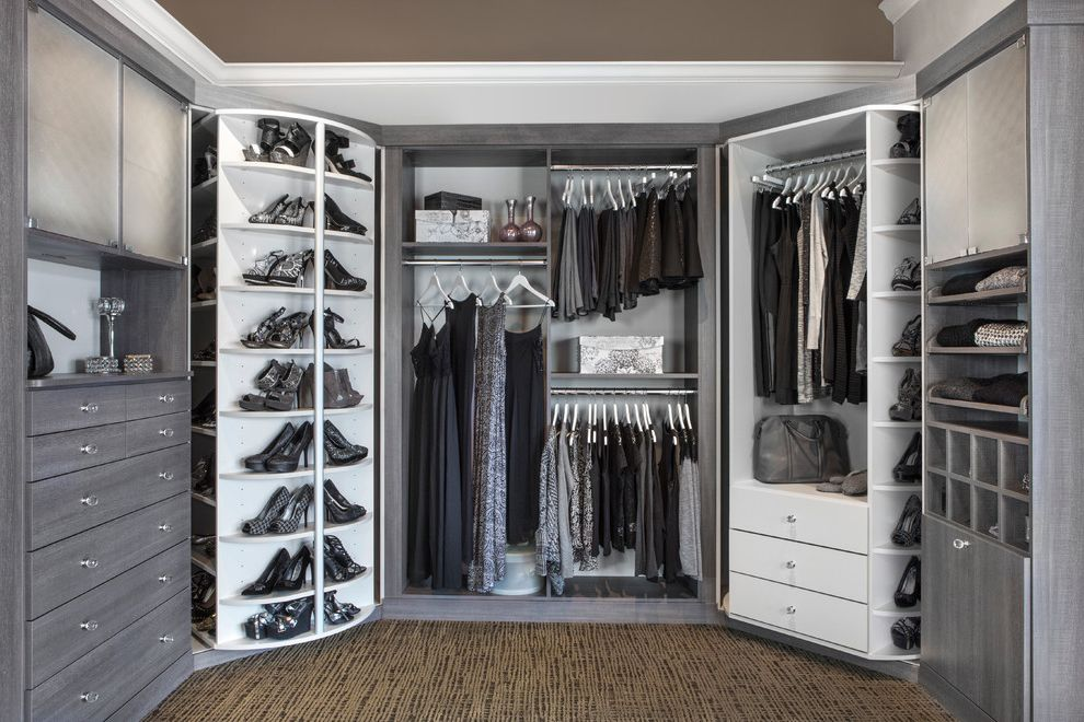 Ikea Decor Ideas for Shoes Organizer  for Transitional Closet and Closet Organization