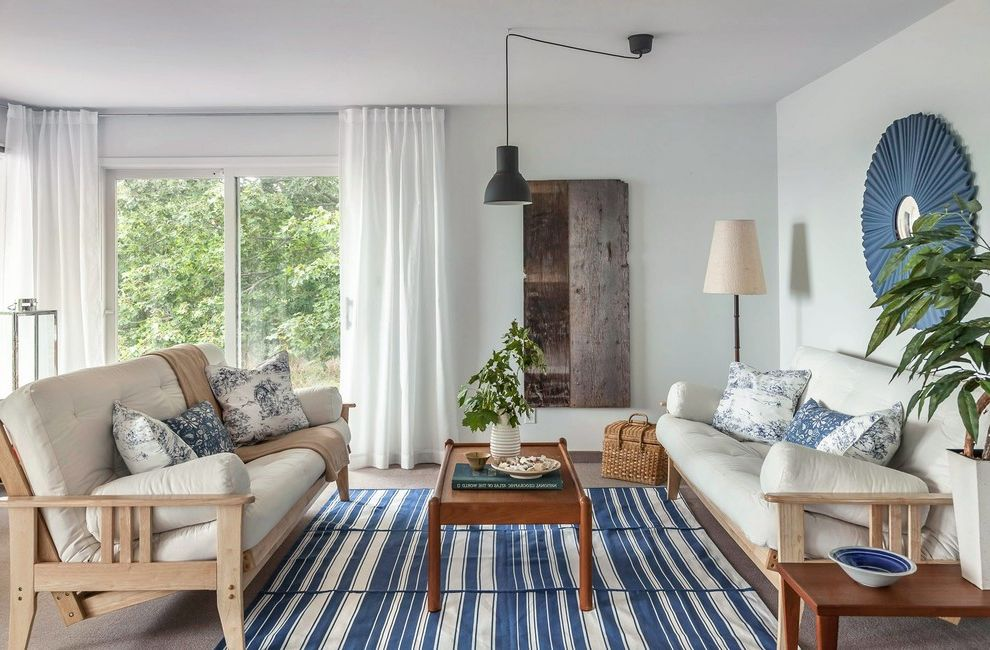 Ikea Futons for Beach Style Living Room and Futon