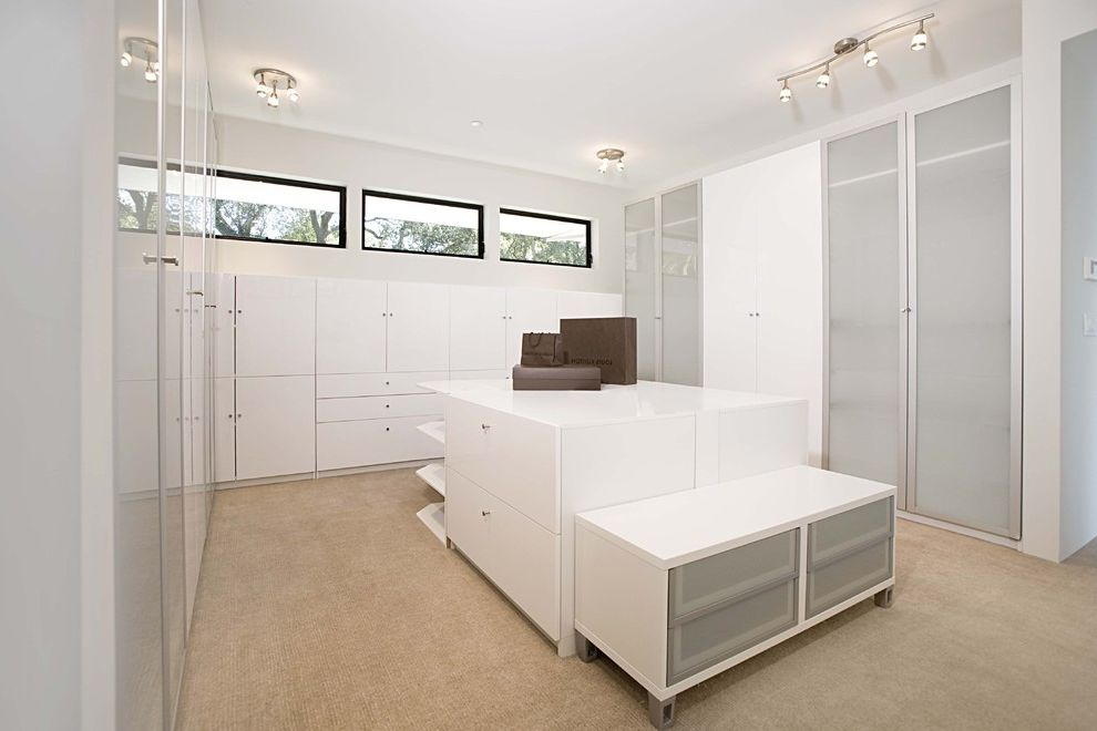 Ikea Houzz for Contemporary Closet and Island