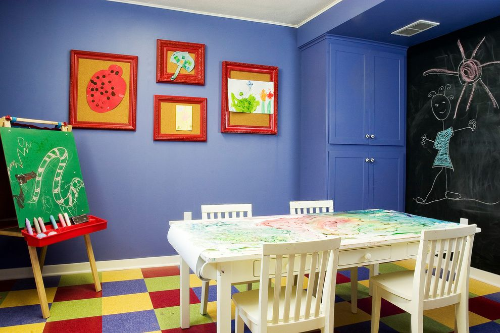 Kids Queen Frame  for Traditional Kids and Rectangular Table