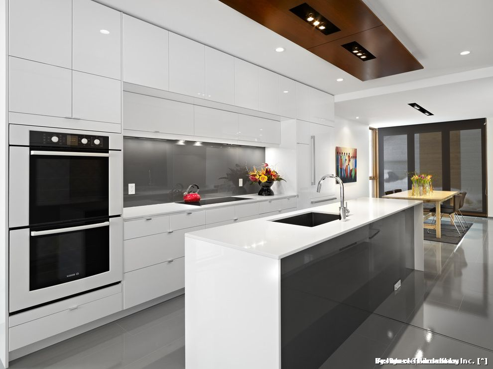 Kitchens with 12 Foot Ceilings for Contemporary Kitchen and White Kitchen