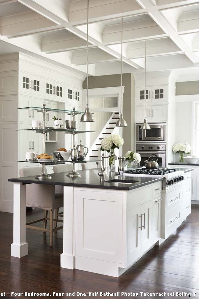 Kitchens with 12 Foot Ceilings for Traditional Kitchen and Eat in Kitchen
